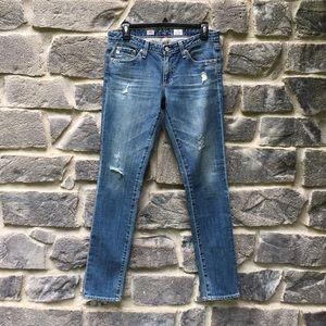 Adriano G. The Stilt Cigarette Skinny Jeans